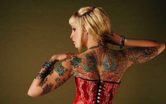 Even More Cute Girls With Nice Tattoos.