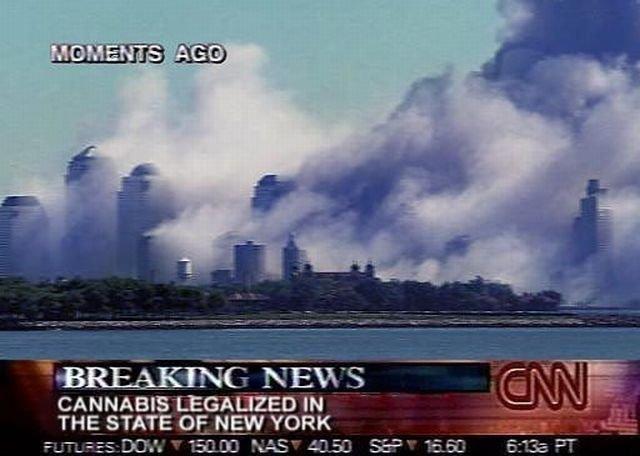 Billedresultat for picture new york legalised cannabis