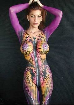 Billedresultat for body painting